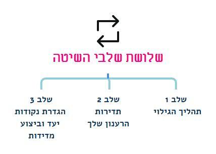 שלושת שלבי השיטה